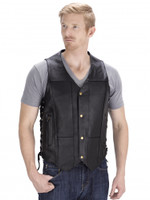 VikingCycle Thorfinn 10 pocket Motorcycle Vest for Men