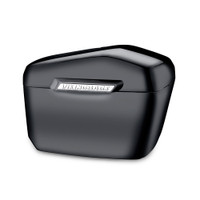 Triumph Thunderbird SE Lamellar Large Black Hard Saddlebags 1