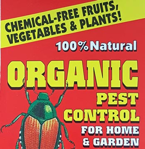 100% Natural Organic Pest Control for Home & Garden by Tom Roberts