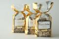 1 lb. Milk Chocolate Toffee - Gold Bag