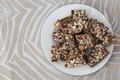 3 pounds Dark Chocolate Toffee, bulk