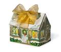 Toffee Christmas House - 1/2 pound Milk and 1/2 pound Dark