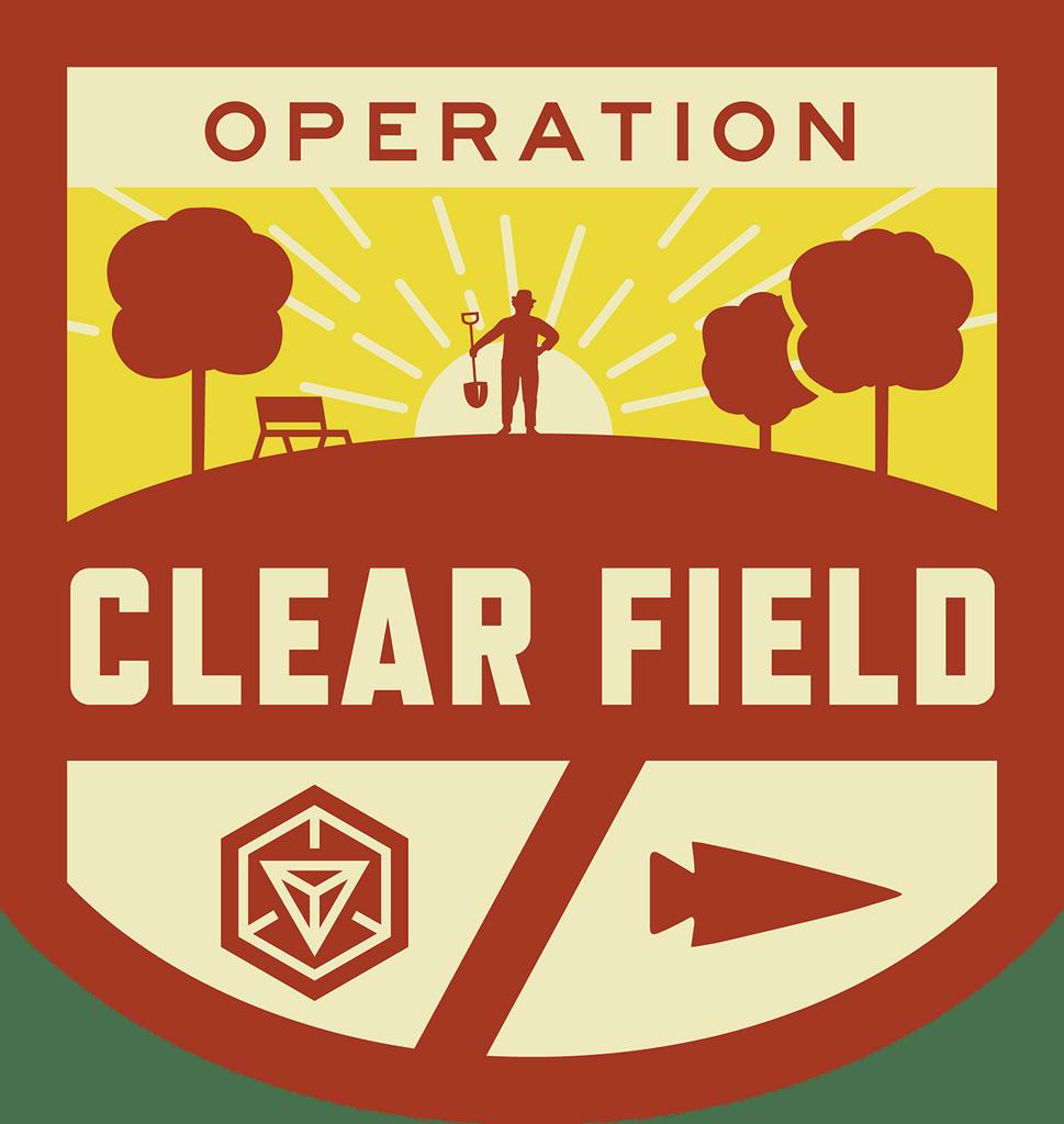 Patch for Operation Clear Field: Santa Cruz, CA 07/23/2017 10:00