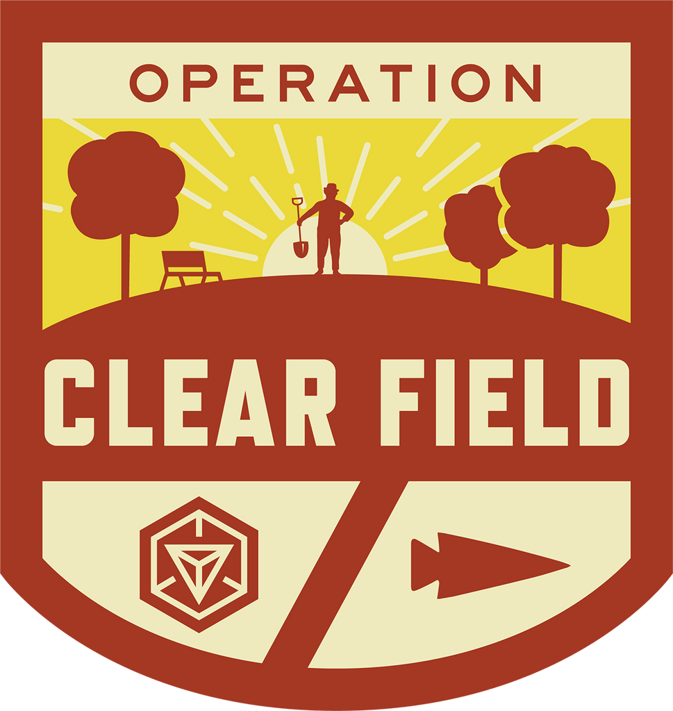 Patch for Operation Clear Field: Anaheim, CA 08/11/2017 18:00