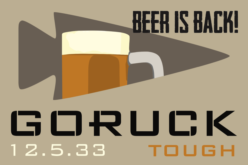 Patch for Tough Challenge: Cincinnati, OH (Prohibition Ends) 12/01/2017 21:00