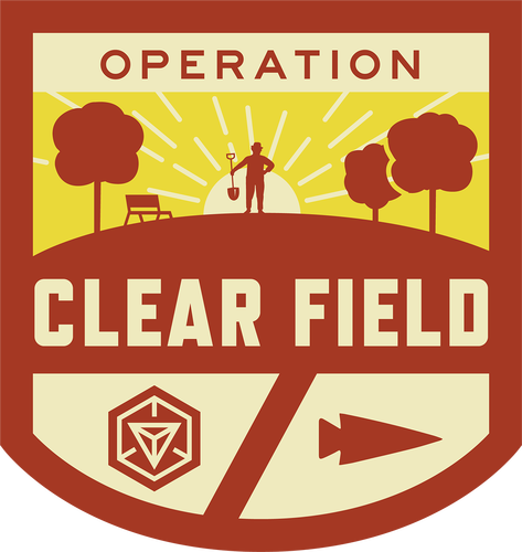 Patch for Operation Clear Field: Marietta, GA 07/21/2017 10:00