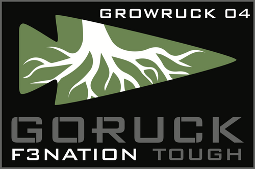 Patch for Custom Tough Challenge: Puget Sound, WA (F3 GrowRUCK 04) 08/26/2017 21:00