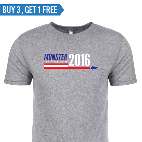 T-shirt - Monster for President