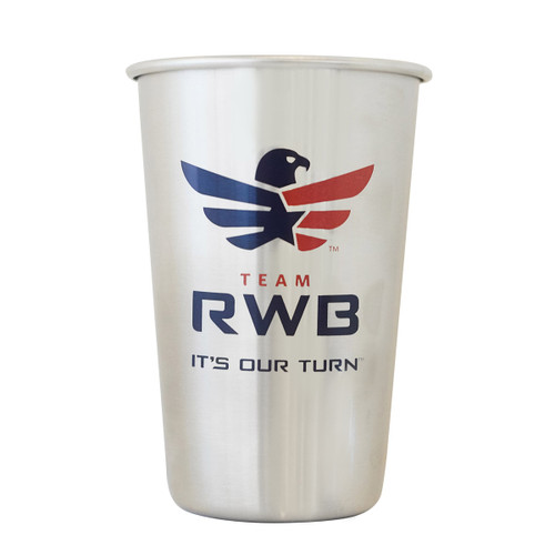 Stainless Steel Pint - Team RWB