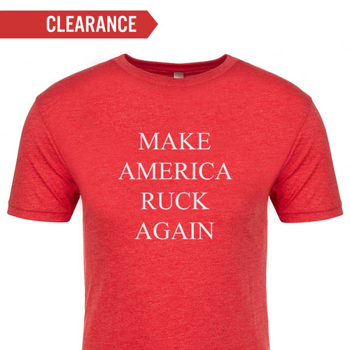 T-shirt - Make America Ruck Again