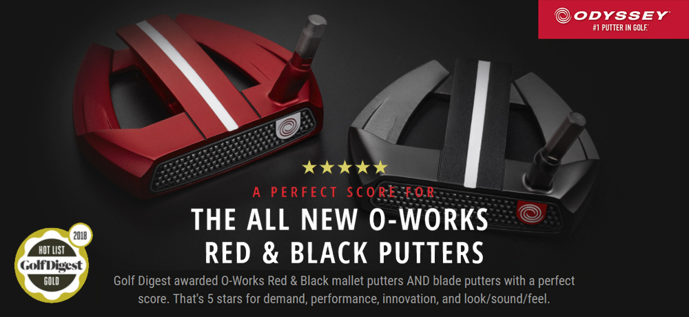 2018 Odyssey Putters
