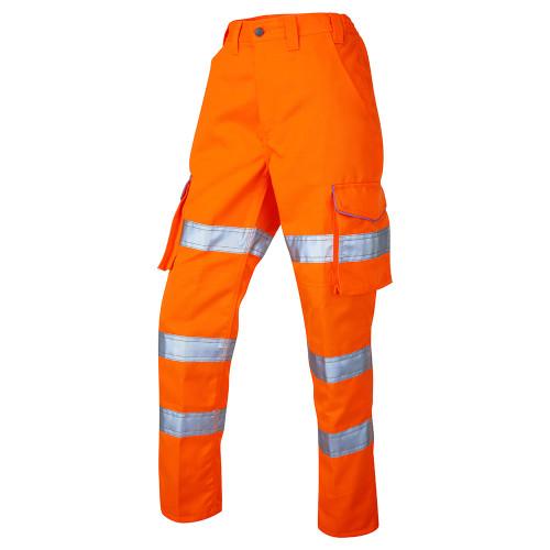 Leo Hi-Vis Ladies Pennymoor Cargo Trousers (CL01-O)
