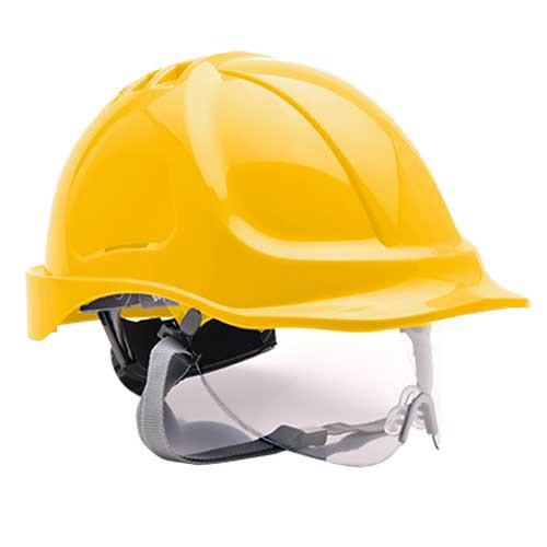 Endurance Visor Helmet - Yellow