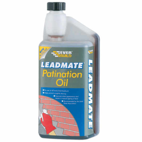 Everbuild Lead Mate Patination Oil - 1Ltr
