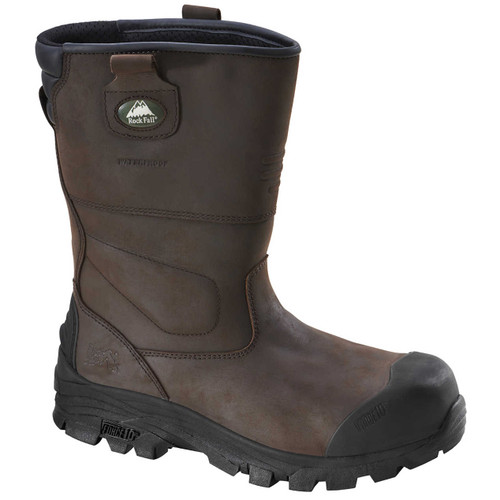 Rockfall Texas Waterproof S3 Safety Rigger Boots (SFBT46)