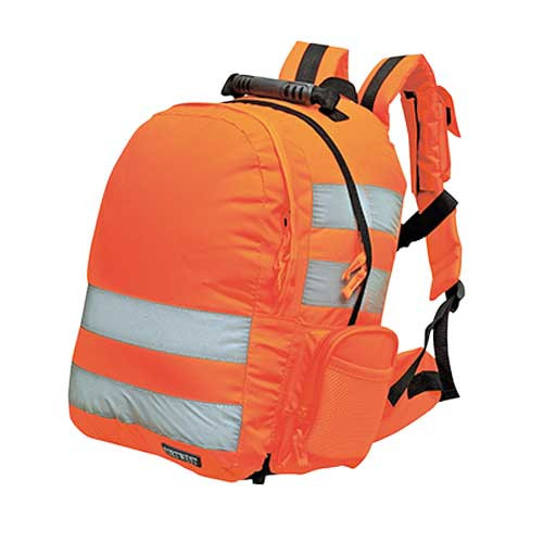 Quick Release Hi-Vis Orange Rucksack