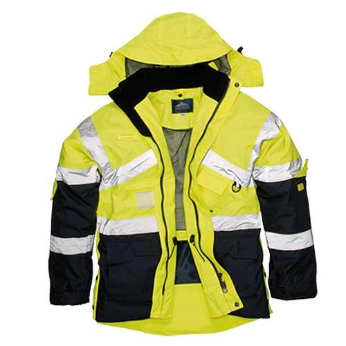 Hi-Vis Two-Tone Breathable Jacket (S760)