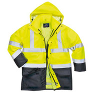 Hi-Vis Executive 5-in-1 Jacket (S768)
