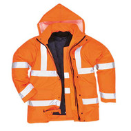 Hi-Vis 4-in-1 Traffic Jacket GO/RT (S468 OR)