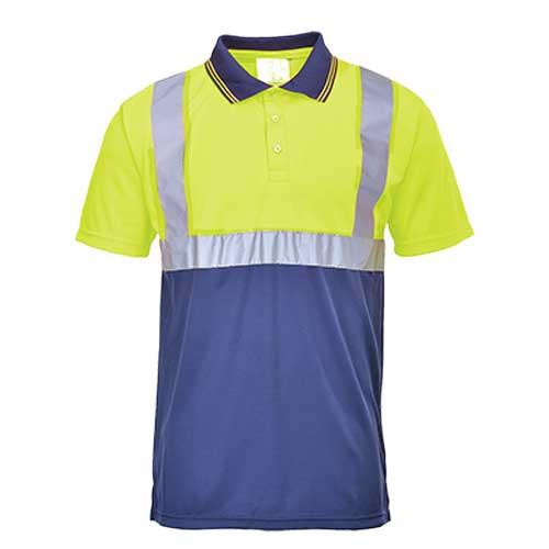 Hi-Vis Two-Tone Polo Shirt (S479)