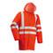Lyngsoe Microflex Hi-Vis Rain Jacket (LR55)
