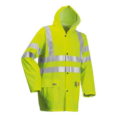 Lyngsoe Microflex FR Hi-Vis Rain Jacket (FR-LR55)