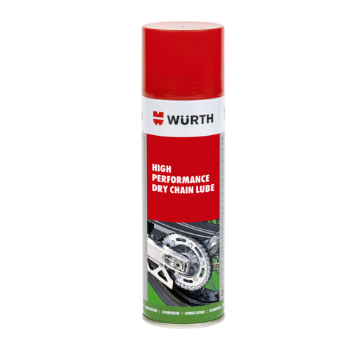 Wurth High Performance Dry Chain Lube 500ml - 089301513