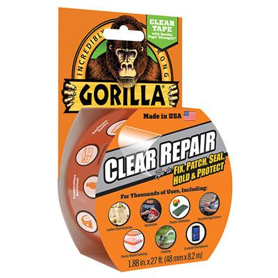 Gorilla Clear Repair Tape 48mm x 8.2m (GRGCLTAPE48)