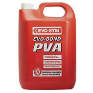 Evo-Stik Evo Bond PVA Universal Adhesive 5 Litre (EVOEBPVA5L)