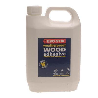 Evo-Stik Resin-W Wood Adhesive 2.5ltr (EVORW212L)