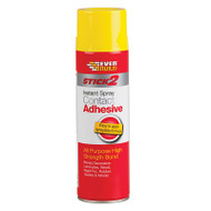 Everbuild Stick 2 Spray Contact Adhesive 500ml (EVBCONSPRAY5)