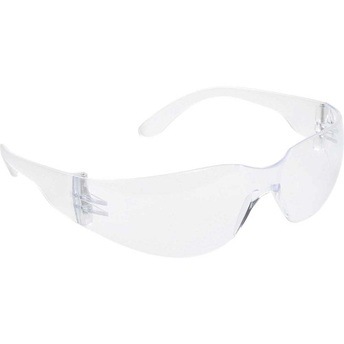 Wrap Around Safety Glasses - Clear