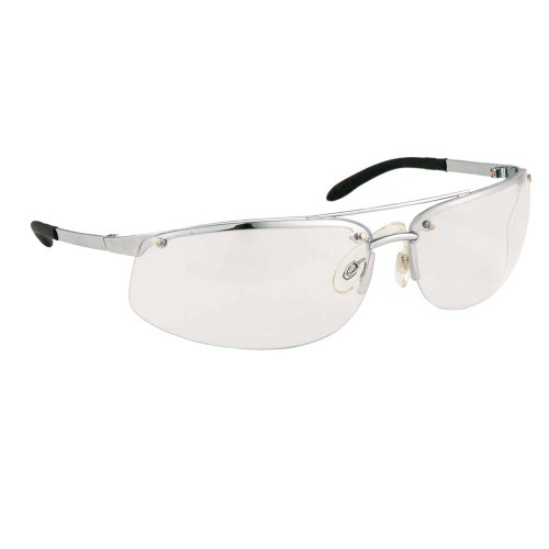Metal Safety Glasses - Clear