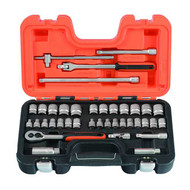 "Bahco 3/4"" Socket Set - 38 pc Metric (BAHS380)"