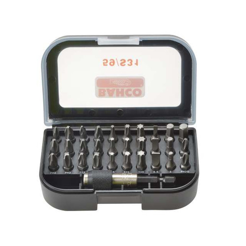 Bahco Screwdriver Bit Set - 31 pc (BAH59S31)