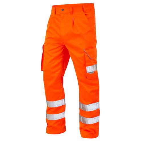 Leo Bideford Hi-Vis Cargo Trousers (CT01-O)