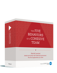Five Behaviors of a Cohesive Team™ - Powered by DiSC® Facilitation Kit