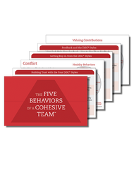 Five Behaviors of a Cohesive Team™ Powered by DiSC® Takeaway Cards