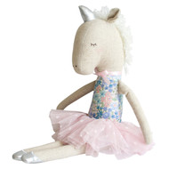 Yvette Unicorn Doll 43cm Liberty Blue