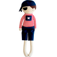 Small Pirate Boy Doll Rattle