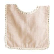 Bobby Bib Pink Linen