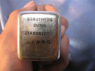 Struthers Dunn (214XBX173) Dunco  Relay, New
