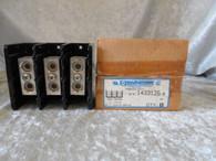 Marathon 1433126-8 Power Blocks 3 Pole, Feed Through, New in box