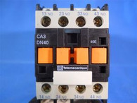 Telemecanique (CA3DN40BD) 4 Pole 24 VDC Control Relay, New Surplus