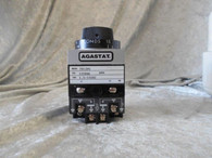 Agastat (7012PC) Timing Relay, Coil 125 VDC Time 1.5-15 Sec. New In Box
