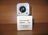 Time Mark Operate Delay Timer (399-120V-60) New Surplus