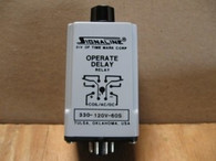 Time Mark Operate Delay Relay (330-120V-60) New Surplus