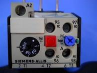 Siemens Allis (OLR0100CS1) .63-1.0 Amp Overload Relay, New Surplus