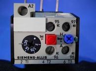 Siemens Allis (OLR0200CS1) 1.25-2.0 Amp Overload Relay, New Surplus