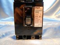 Fuji Electric (EA53) 50A Auto Breaker 3 Pole 50A, Used Take Out